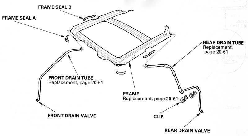 Toyota Sunroof Diagram on 2002 ford explorer tailgate parts diagram